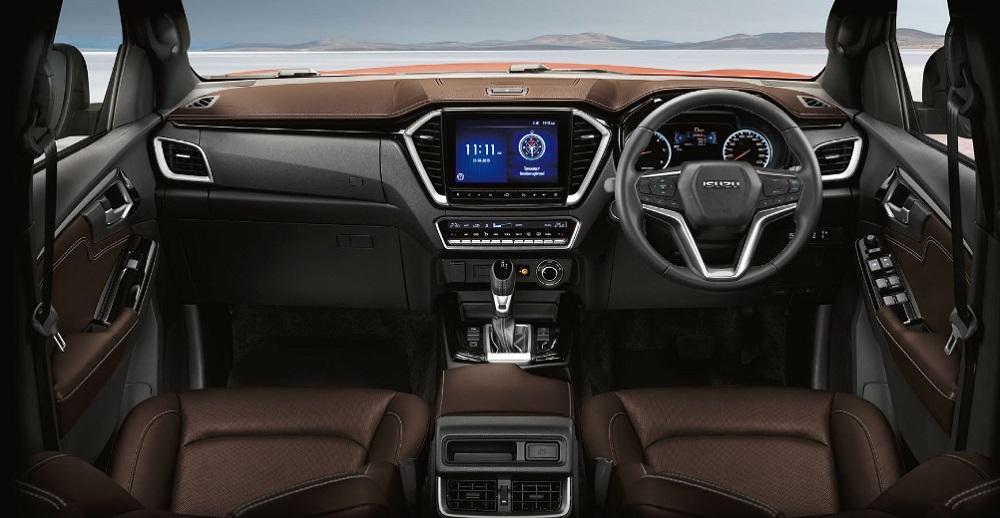 All NEW Isuzu D-max 2020 การออกแบบภายในตัวรถ